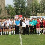 The United States Sports Academy facilitated soccer matches between the women's teams of Duke University and Beijing Normal University in China in conjunction with Federation of University Sport of China (FUSC).