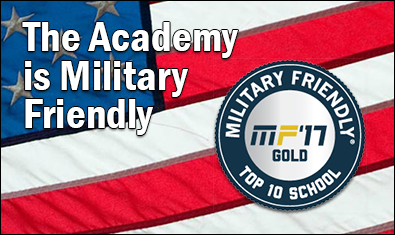 The Academy is Military Friendly