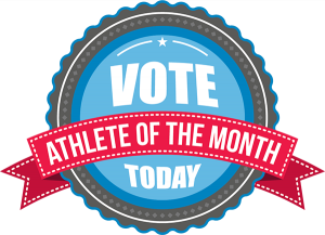 Vote Now for Athlete of the Month