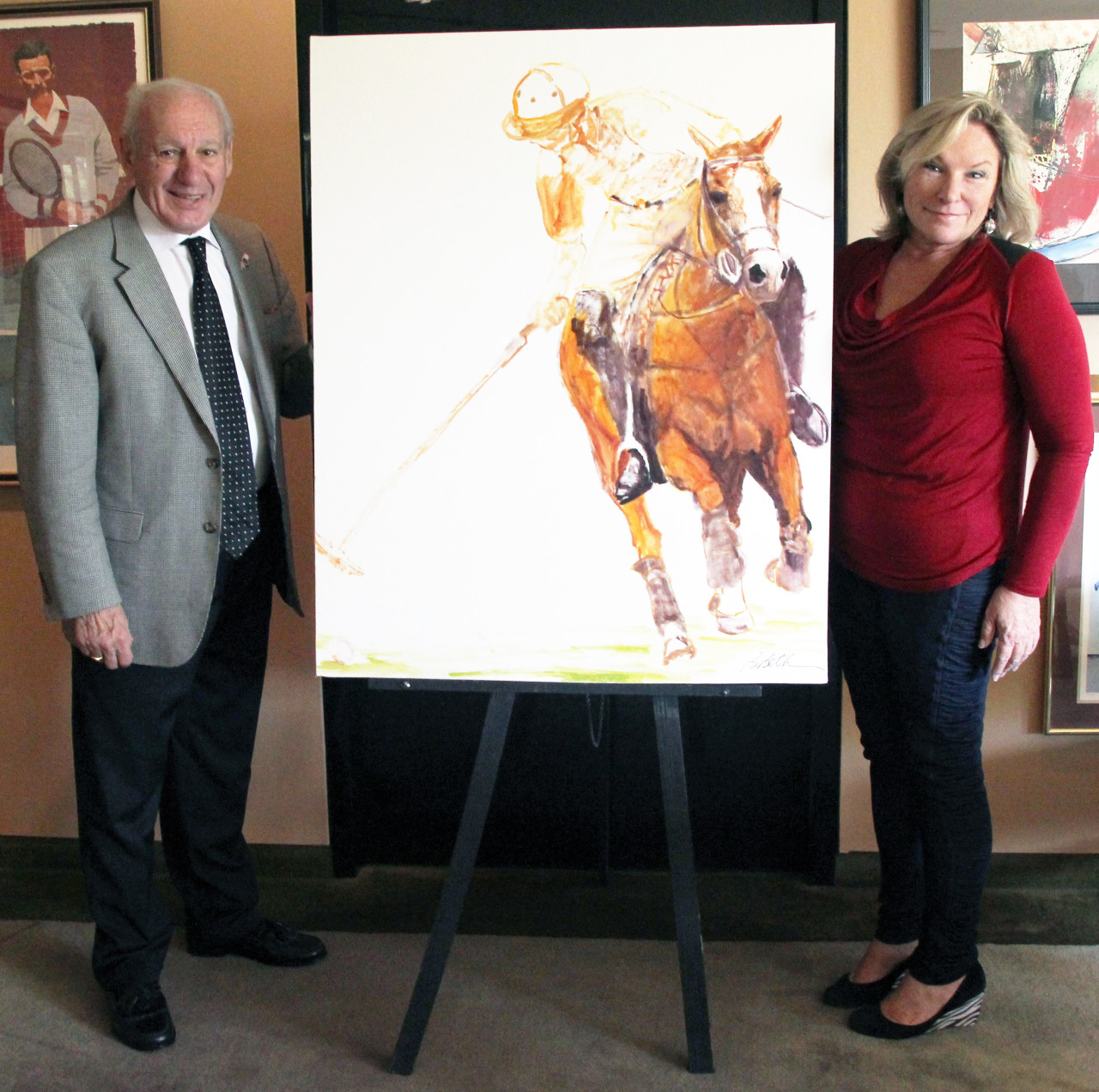 """Art Committee Member Named Official """"Polo at the Point"""" Artist"""