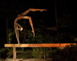 """Nastia the Gymnast"" by Bruce Larsen"