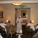 A meeting of the Bahrain Alumni Association taking place in Manama.