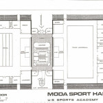 Schematic design for a easy to erect and maintain indoor sports facility