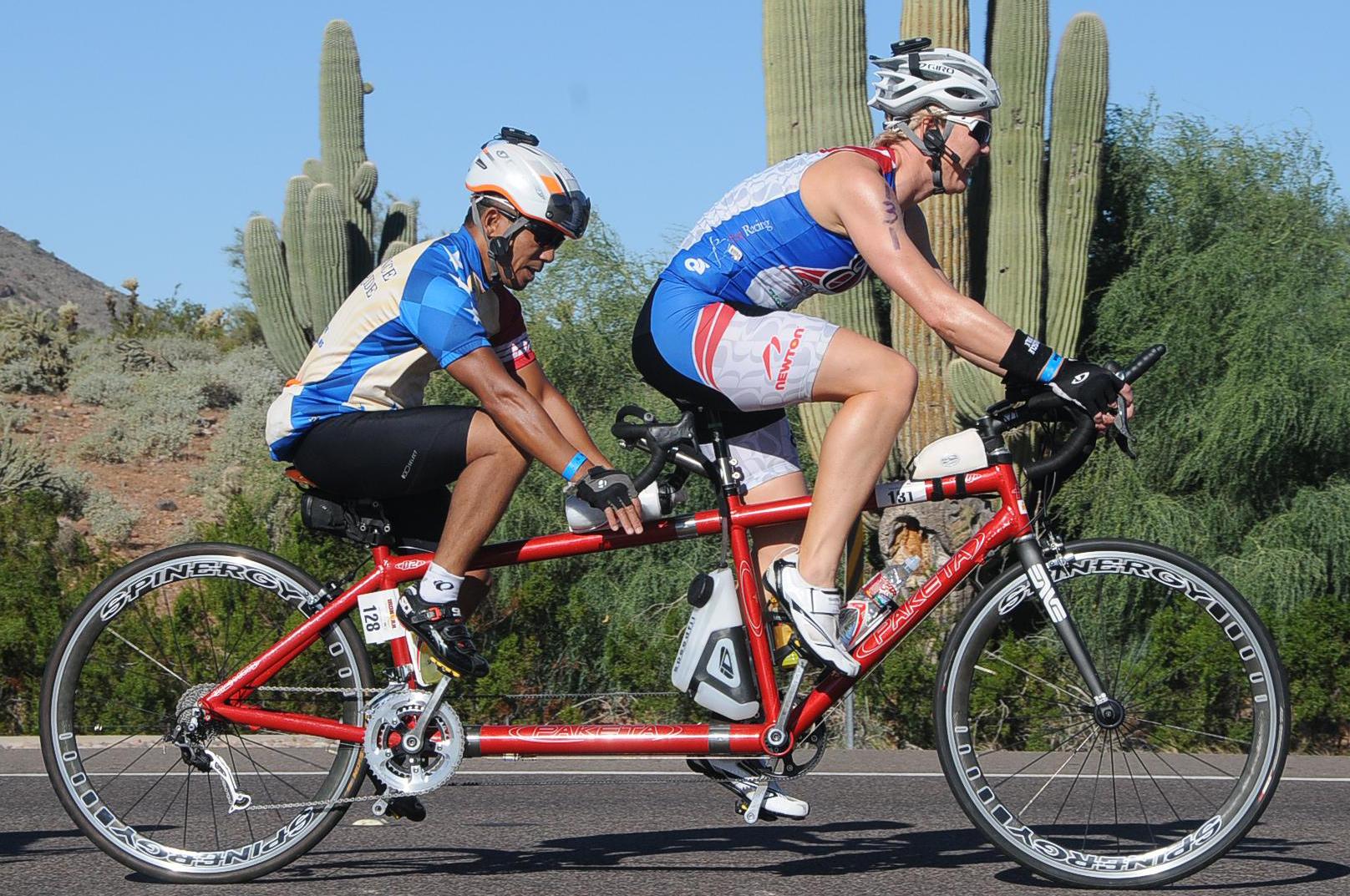 Biking Ironman
