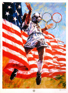 """Luongo Painting """"America's Dream"""""""