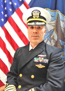 Photograph Commander David Peterson