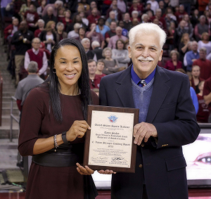 Dawn Staley & Mike Spino