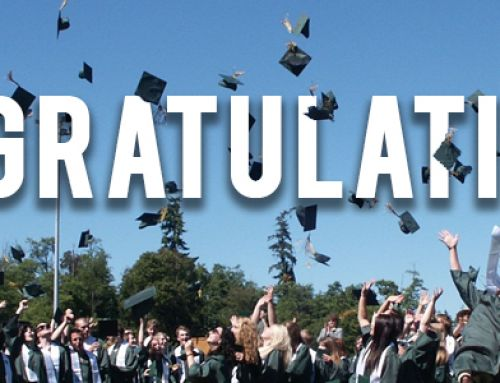Congratulations to our recent graduates!