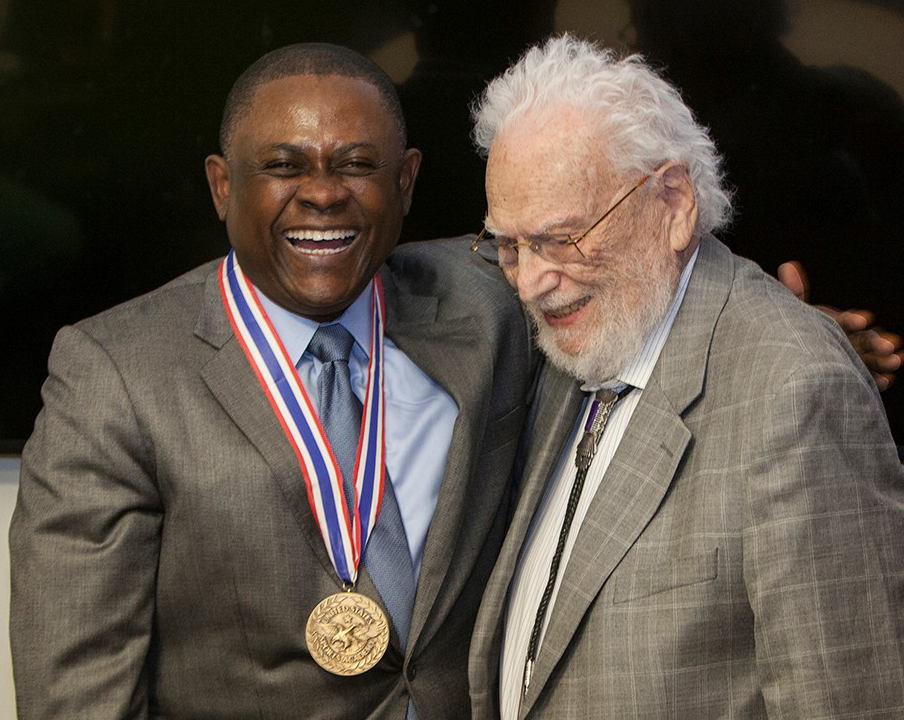 Dr. Omalu and Dr. Bloack