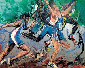 Runners by Dr. Mina Papatheodorou Valyraki
