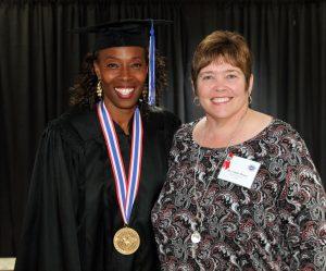 LaTanya Sheffield and Dr. Linda Moore