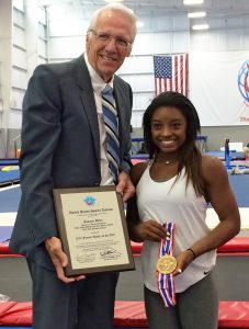 Simone Biles Awarded