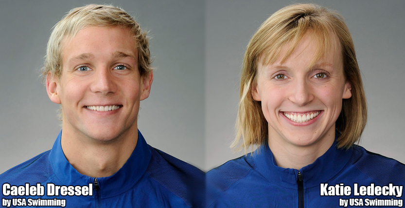 Dressel and Ledecky