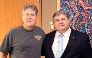 Mike Leach and Dr TJ Rosandich