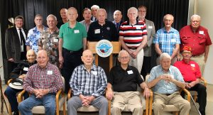 Veterns who visited the Academy