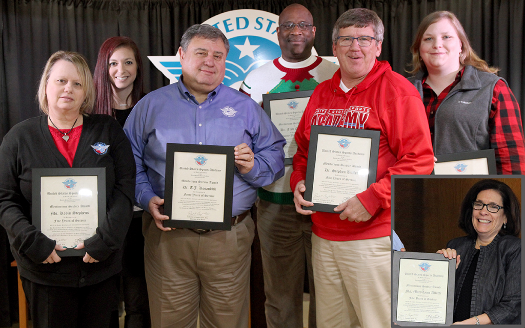 Employees with Service Awards