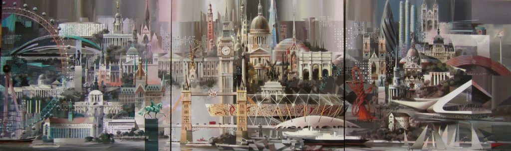 Billich 2012 London Olympics Cityscape_Londolympia