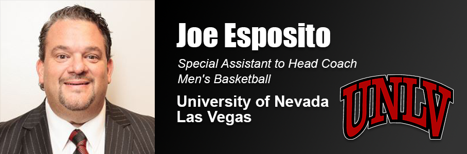 Alumnus Joe Esposito Continues Successful Basketball Coaching Career With Position At Unlv United States Sports Academy See more of unlv bookstore on facebook. alumnus joe esposito continues