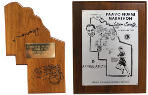 Paavo Recognition plaques