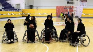 adaptive basketball ladies