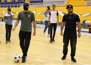 male adaptive soccer