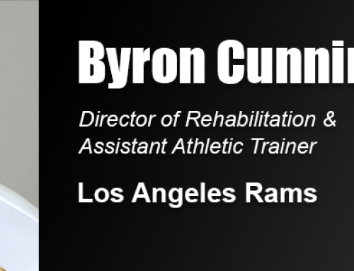 Los Angeles Rams Rehab Director Byron Cunningham Named United States Sports Academy's 2019 Alumnus of the Year