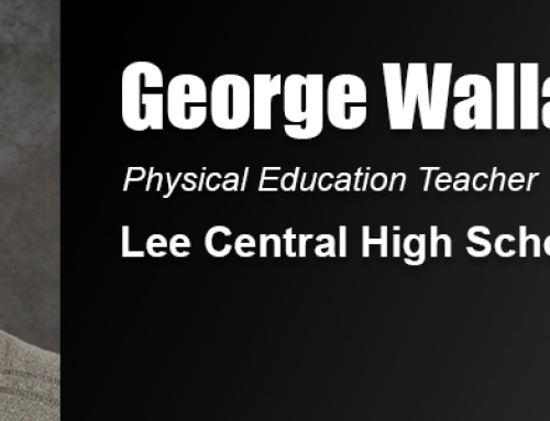 Academy Graduate Wallace Leads Adaptive Physical Education Program at Lee Central High School