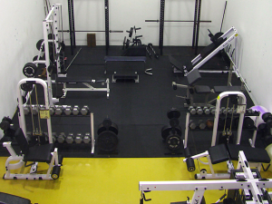 second weight room