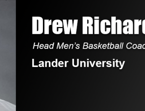 Drew Richards Hired to Coach Men's Basketball at Lander University