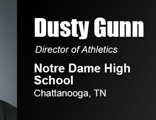 Academy Graduate Dusty Gunn Reaches Goal of Becoming an Athletic Director