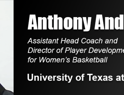 Sports Coaching Degree Alumnus Anthony Anderson Joins UTEP Women's Basketball Staff