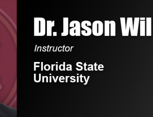 Former Academy Teaching Assistant Dr. Jason Williams Hired in Faculty Role at Florida State
