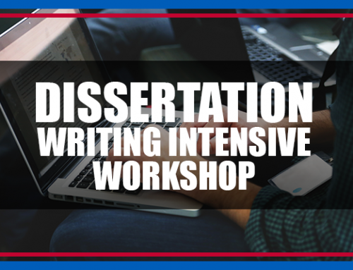 Academy Announces Inaugural Dissertation Writing Intensive Workshop for Doctoral Students