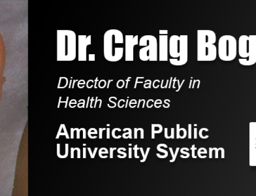 Academy Doctoral Alumnus Dr. Craig Bogar Holds Faculty Leadership Role with American Public University System