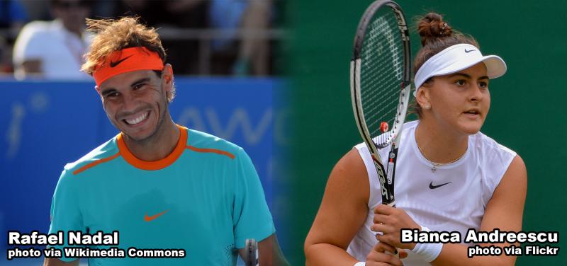 Rafael Nadal & Bianca Andreescu