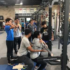 Teaching basic lifts course