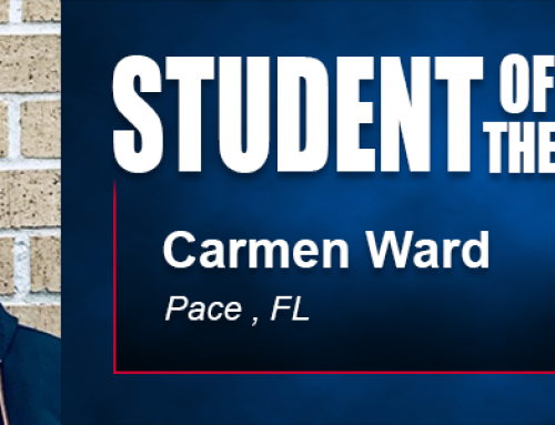 Student of the Month Carmen Ward Eyes Physical Education Career After Earning Academy Degree