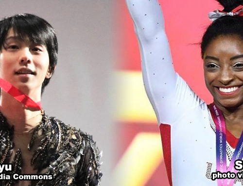 Hanyu, Biles Named United States Sports Academy October Athletes of the Month