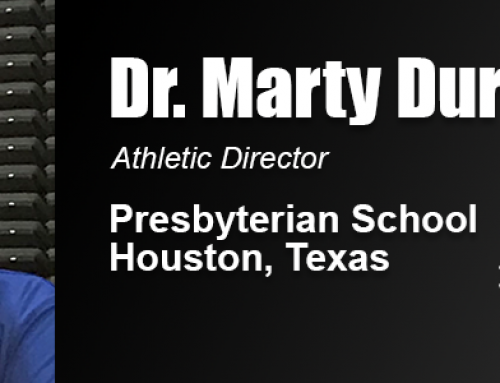 Dr. Marty Durden Says 'Servant-Leader' Coaches Can Solve Ethical Dilemmas in Sports