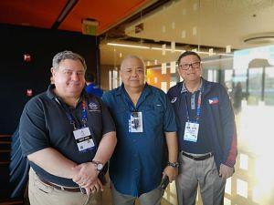 Dr. Rosandich at SEA Games
