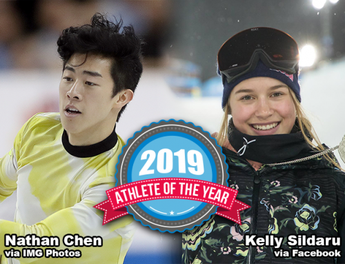 Nathan Chen, Kelly Sildaru Selected as the United States Sports Academy's 2019 Athletes of the Year