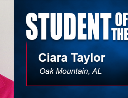 Student of the Month Ciara Taylor Eyes Athletic Training Career with Academy Education
