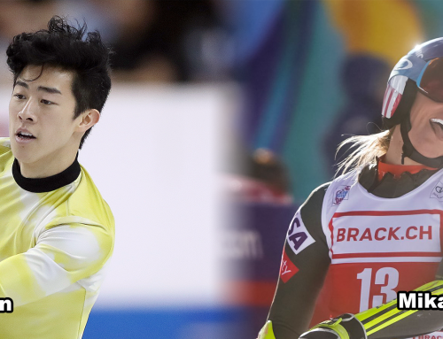Chen, Shiffrin Named United States Sports Academy January Athletes of the Month