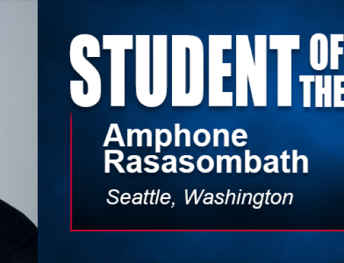 Student of the Month Amphone Rasasombath Looks Forward to Career with Bachelor's Degree in Sports Strength and Conditioning