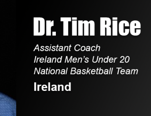 Academy Alumnus, National Faculty Member Dr. Tim Rice Named Assistant Coach for Ireland Under 20 Men's Basketball Team