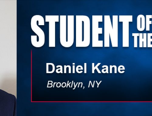 Student of the Month Daniel Kane Eyes Boost in Education Career with Academy Doctoral Degree