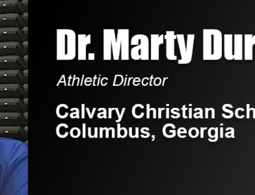 'Servant-Leadership' Advocate Dr. Marty Durden Takes Over High School Athletic Department in Georgia