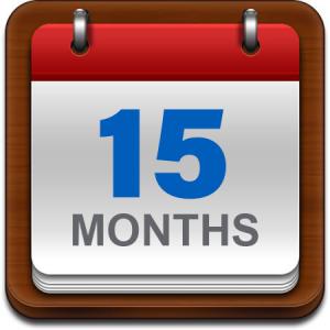 15 Month Calendar