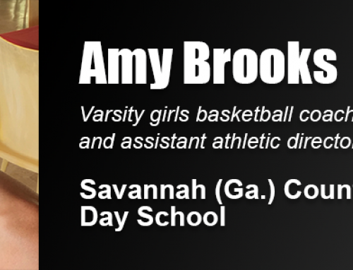 Academy Alumna Amy Brooks Named Girls' Basketball Coach, Assistant AD at Savannah Country Day School