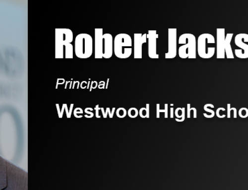 Robert Jackson Uses Academy Education in Work as High School Principal in South Carolina